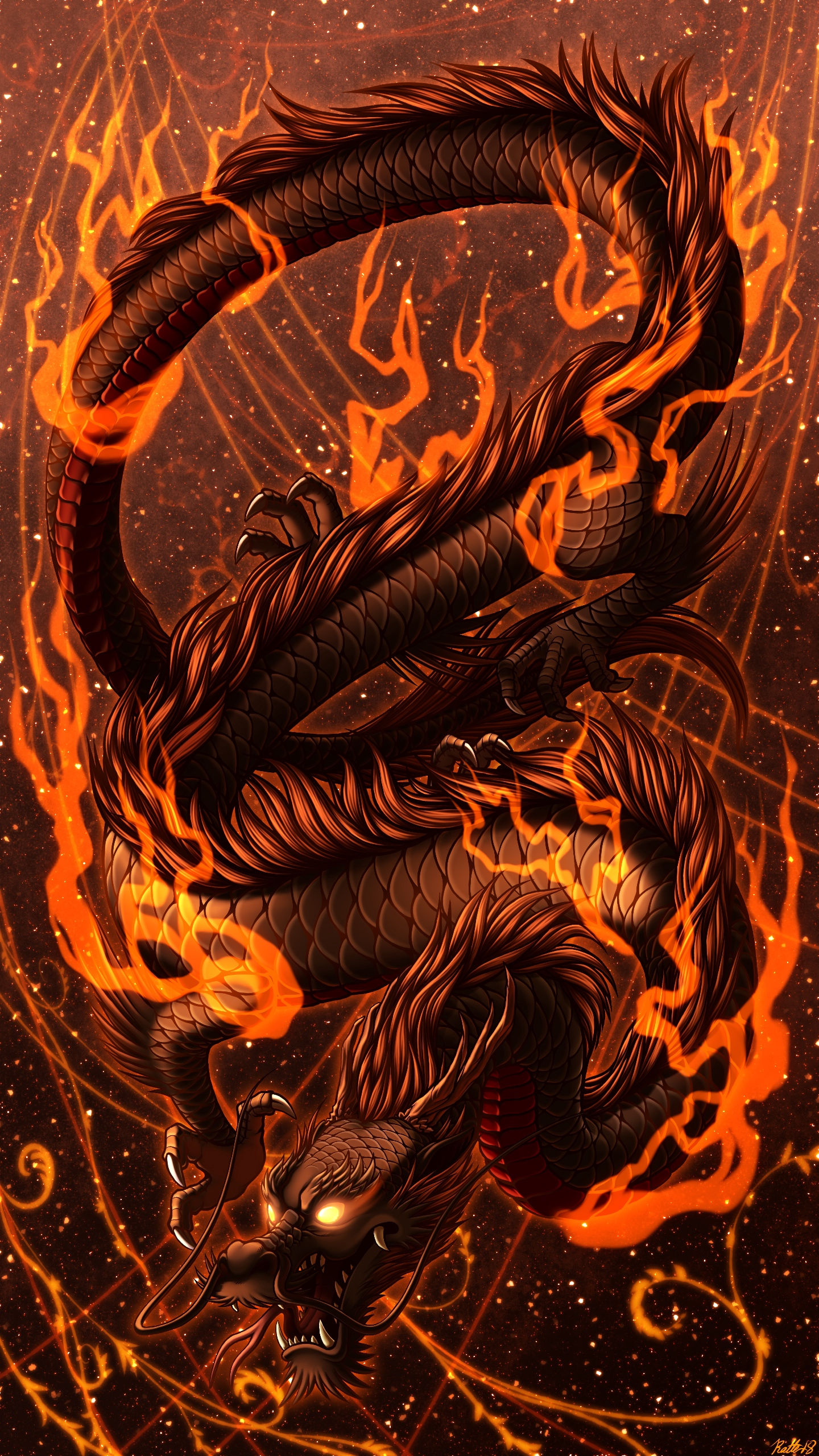 Best Dragon wallpapers for phone screen