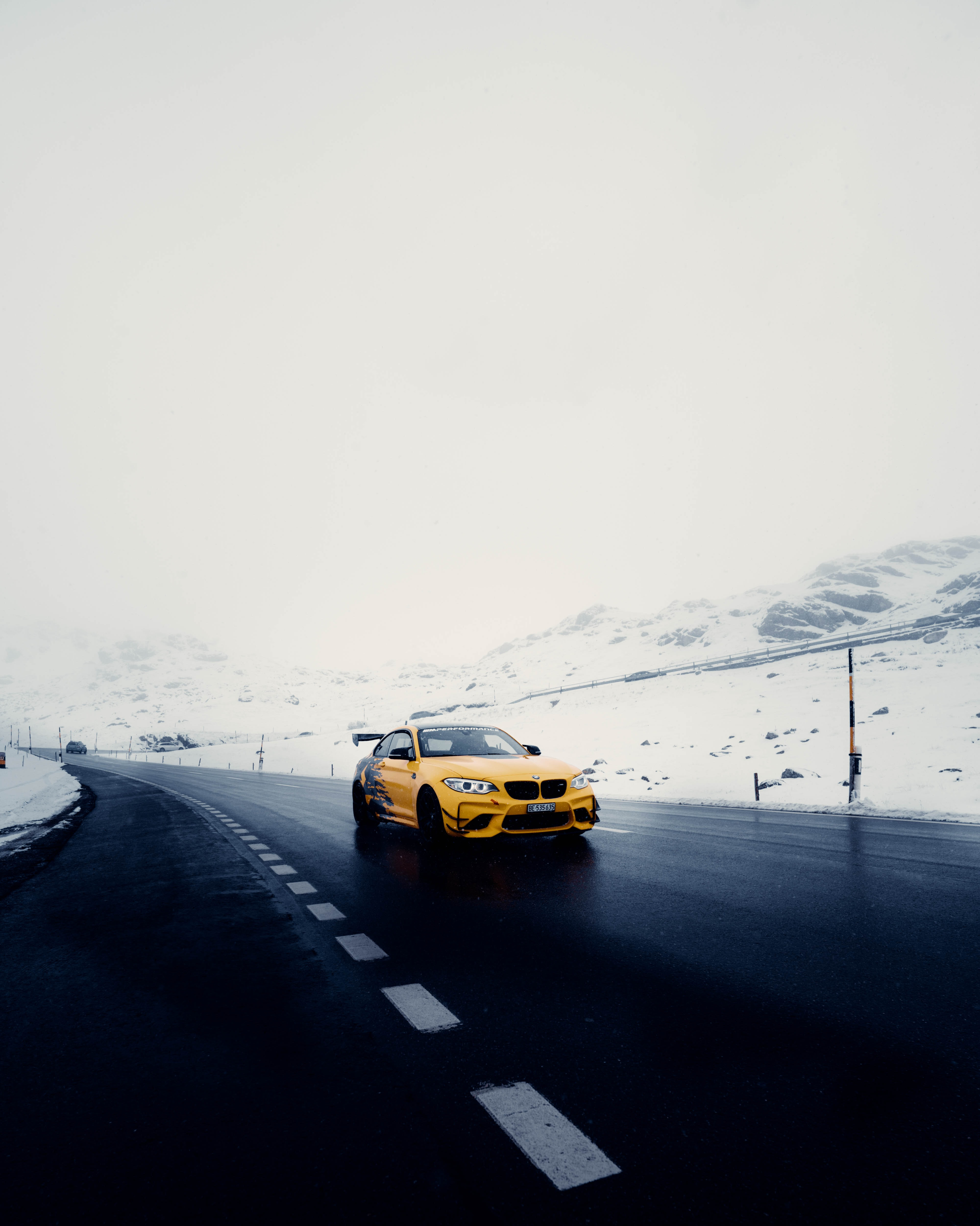 135362 free wallpaper 1080x2340 for phone, download images Sports, Snow, Cars, Road, Car, Sports Car 1080x2340 for mobile