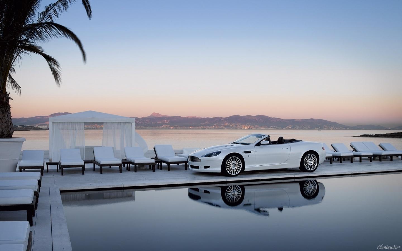 22755 скачать обои Транспорт, Машины, Море, Астон Мартин (Aston Martin) - заставки и картинки бесплатно