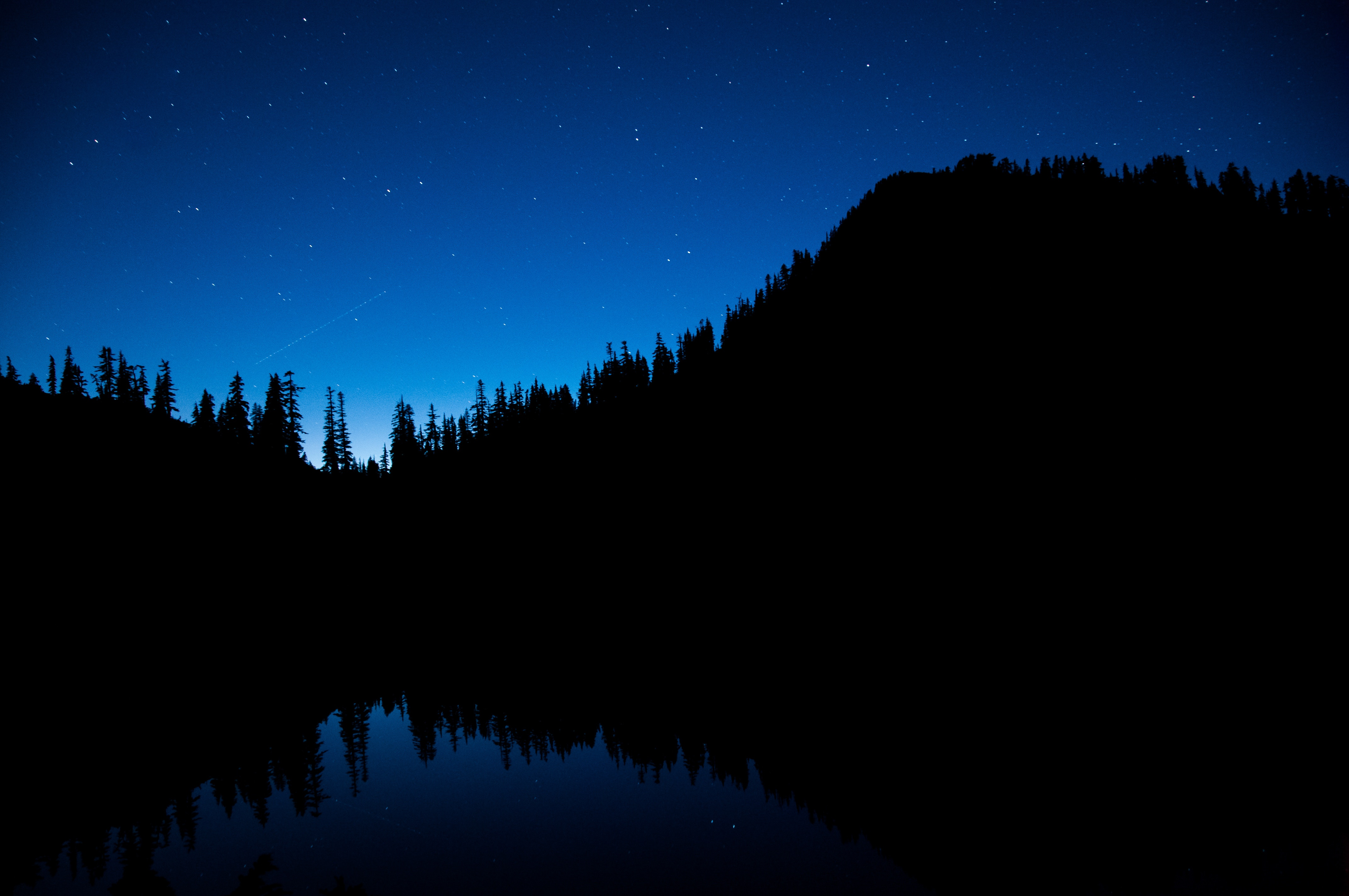 免費下載 104626: 树, 黑暗的, 黑暗, 星空, 夜空 桌面壁紙