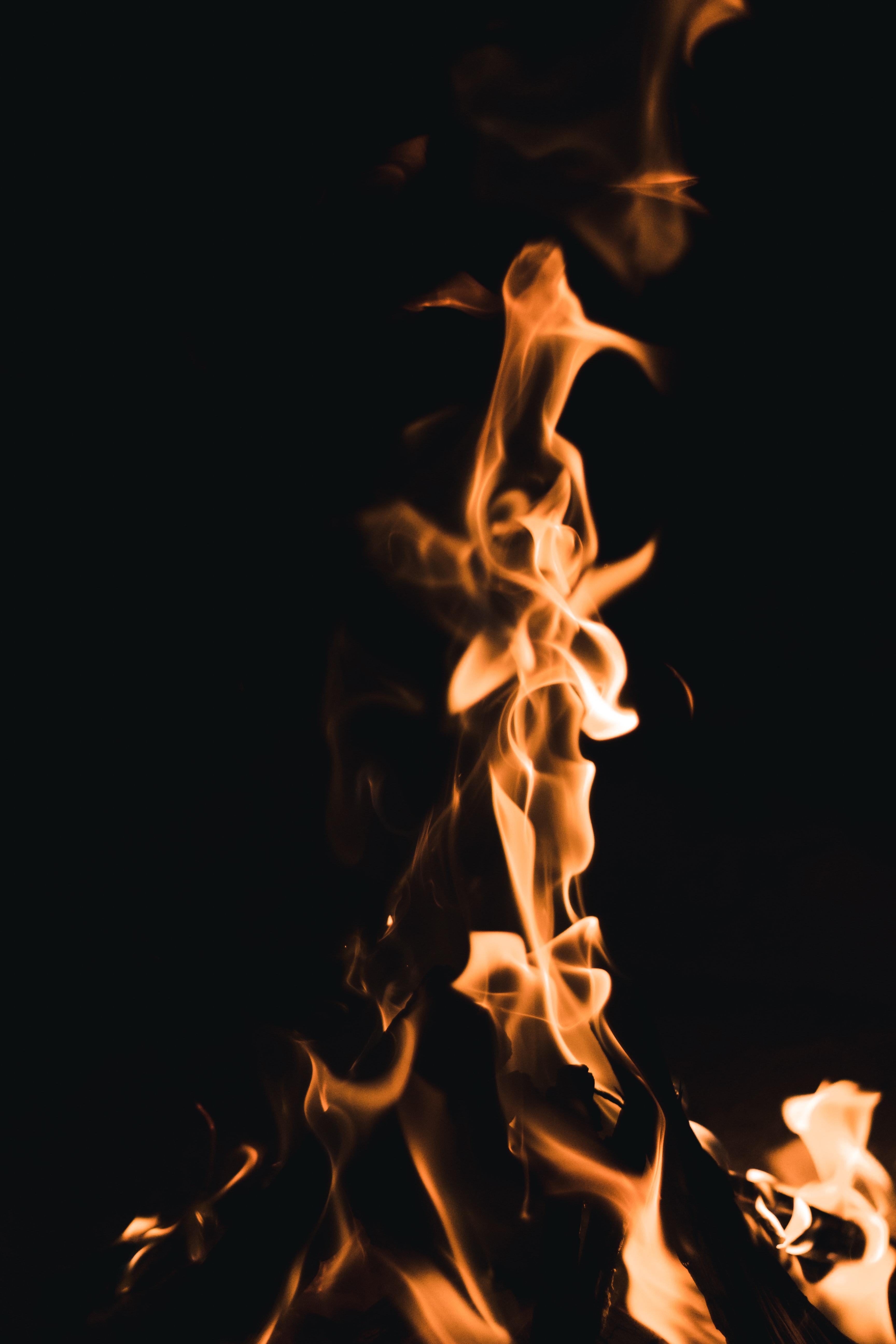114818 免費下載壁紙 黑暗的, 黑暗, 火, 火焰, 黑色的 屏保和圖片