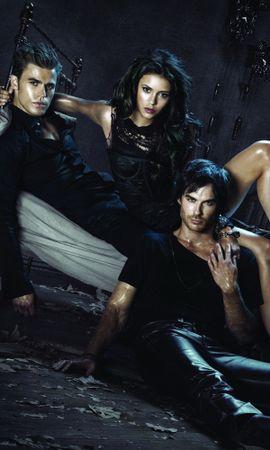 21807 descargar fondo de pantalla Cine, Personas, Actores, Vampire Diaries: protectores de pantalla e imágenes gratis