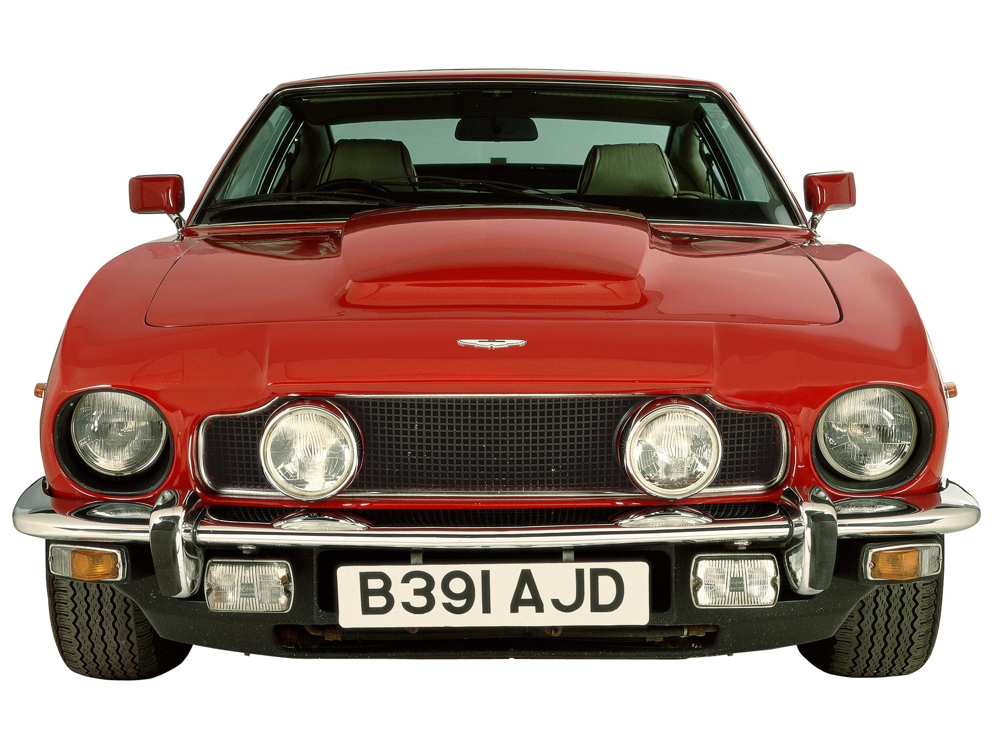 135611 скачать обои Машины, Астон Мартин (Aston Martin), Тачки (Cars), Красный, Вид Спереди, Ретро, V8, 1972, Saloon - заставки и картинки бесплатно