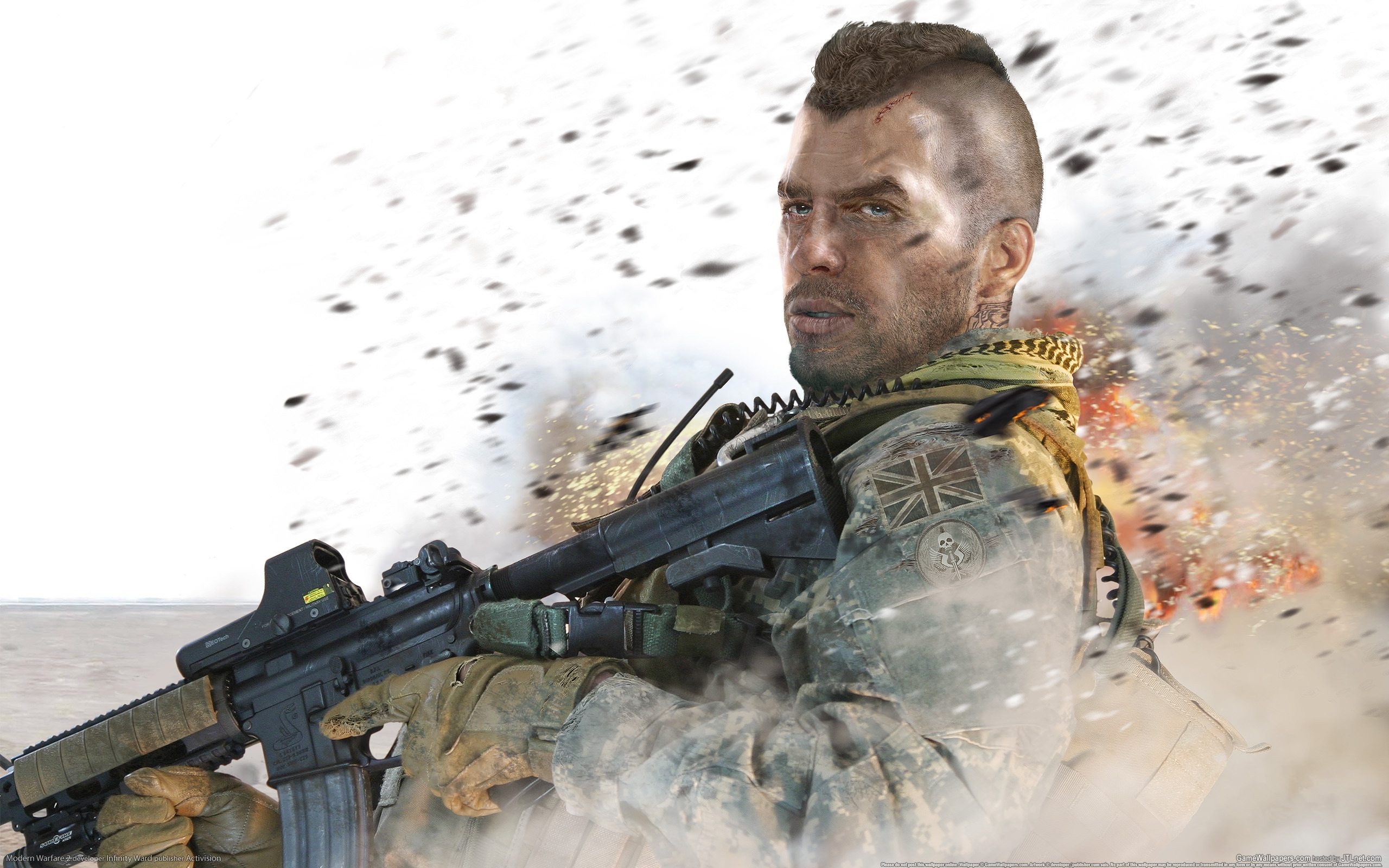 854 download wallpaper Games, Modern Warfare 2, Call Of Duty (Cod) screensavers and pictures for free