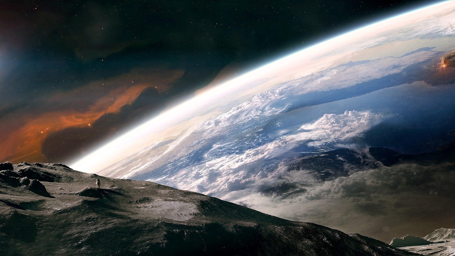 免费下载宇宙, 景观手机壁纸。