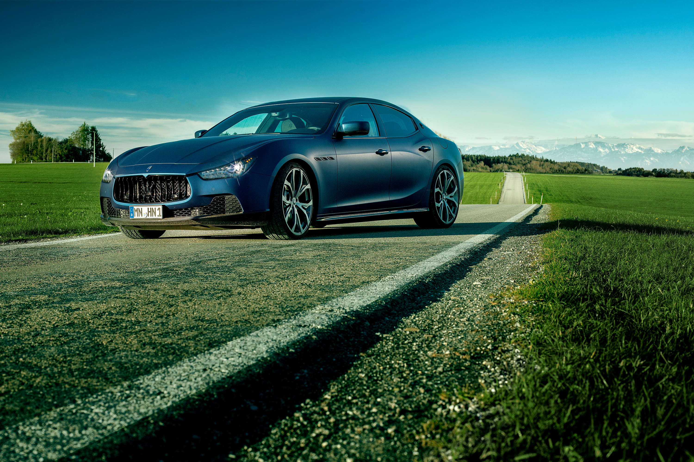 60373 Hintergrundbild herunterladen Maserati, Cars, Seitenansicht, Ghibli, Novitec Dreizack, Novitec Tridente - Bildschirmschoner und Bilder kostenlos