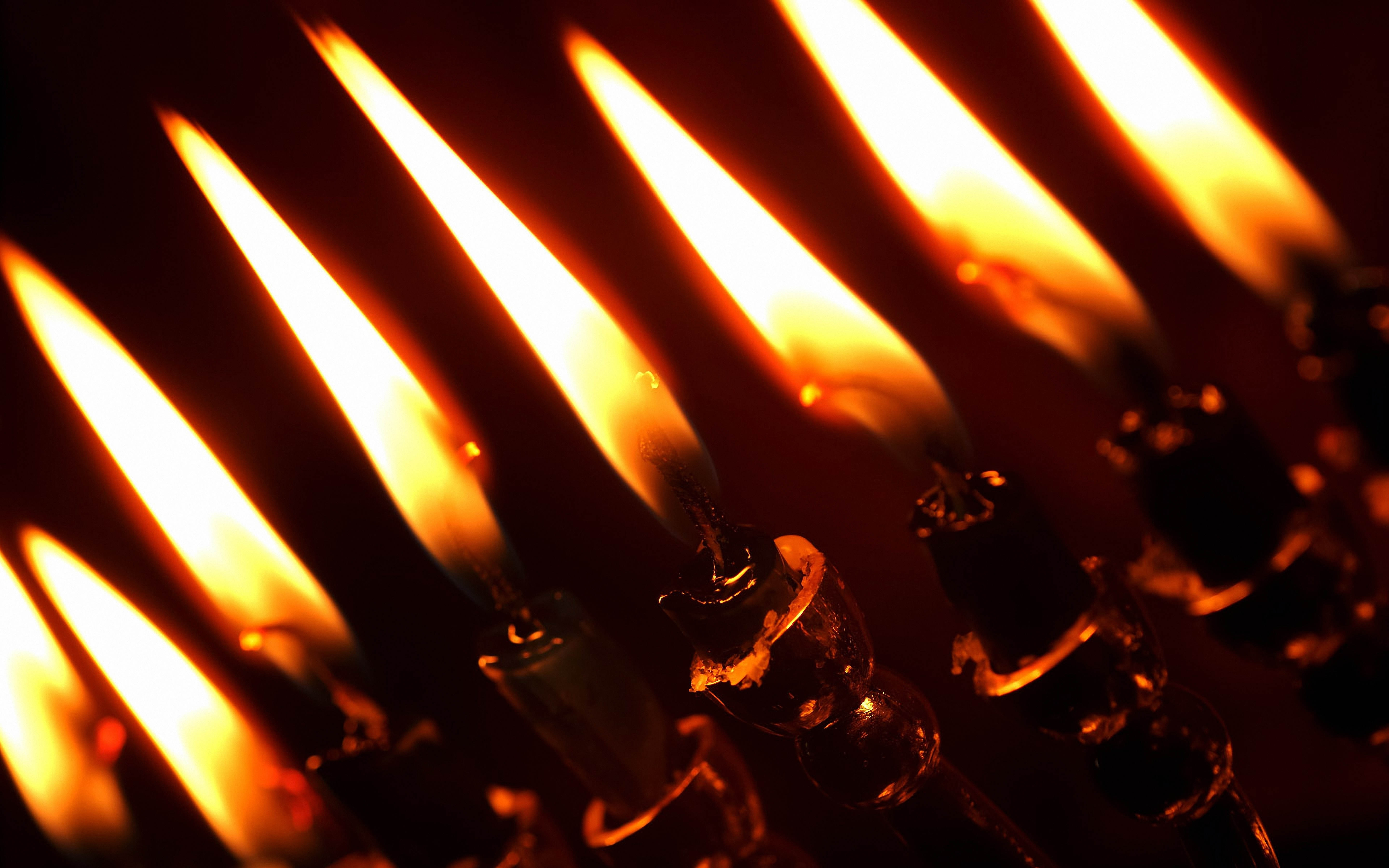 148778 Screensavers and Wallpapers Candles for phone. Download Candles, Lights, Dark, Close-Up, Darkness, Candlesticks pictures for free