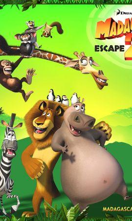 1155 скачать обои Мультфильмы, Мадагаскар (Madagascar), Побег В Африку (Escape Africa) - заставки и картинки бесплатно