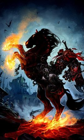 18526 download wallpaper Games, Darksiders: Wrath Of War screensavers and pictures for free