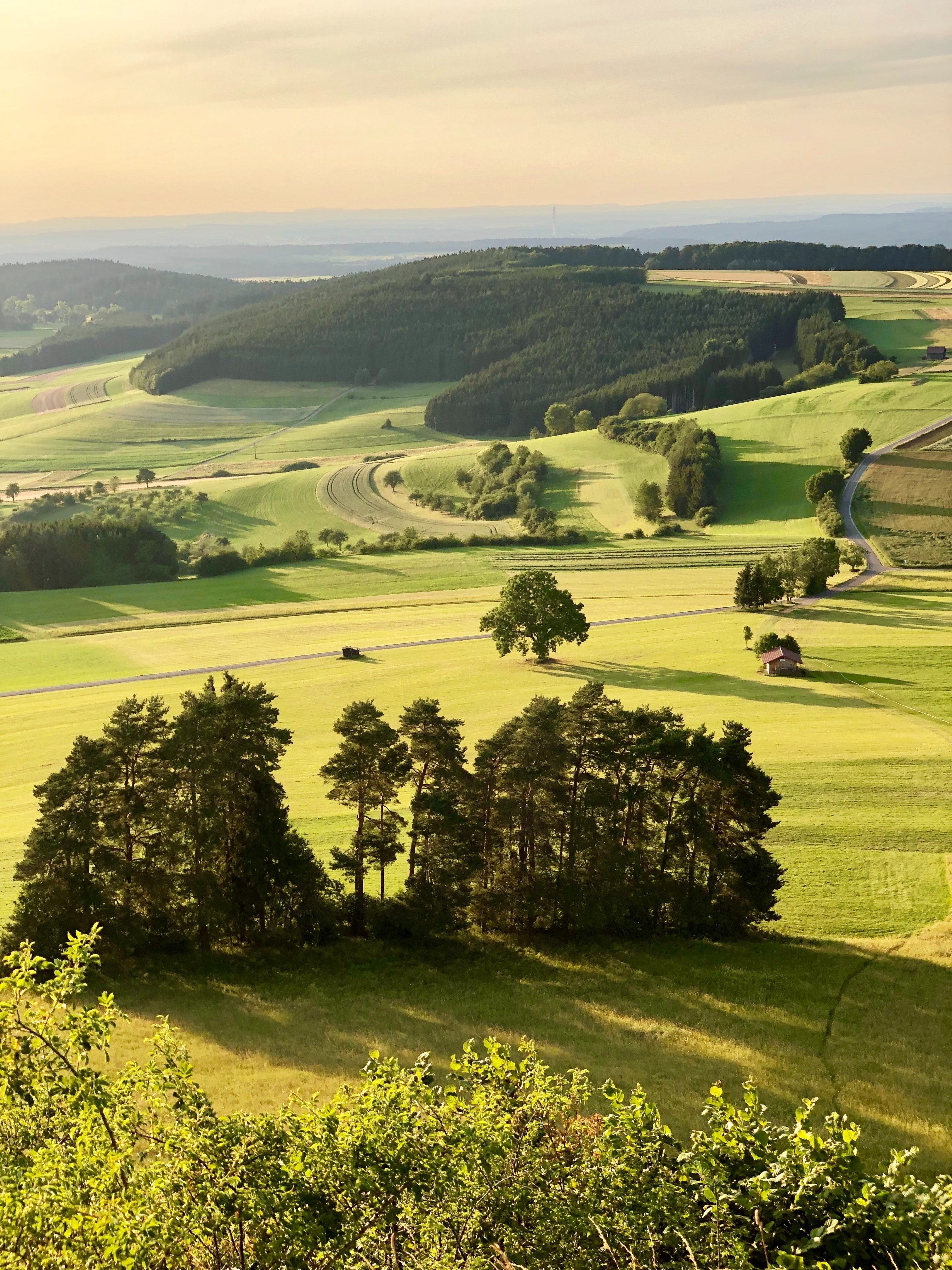 102665 Screensavers and Wallpapers Landscape for phone. Download Nature, Meadows, Hills, View From Above, Greens, Landscape pictures for free