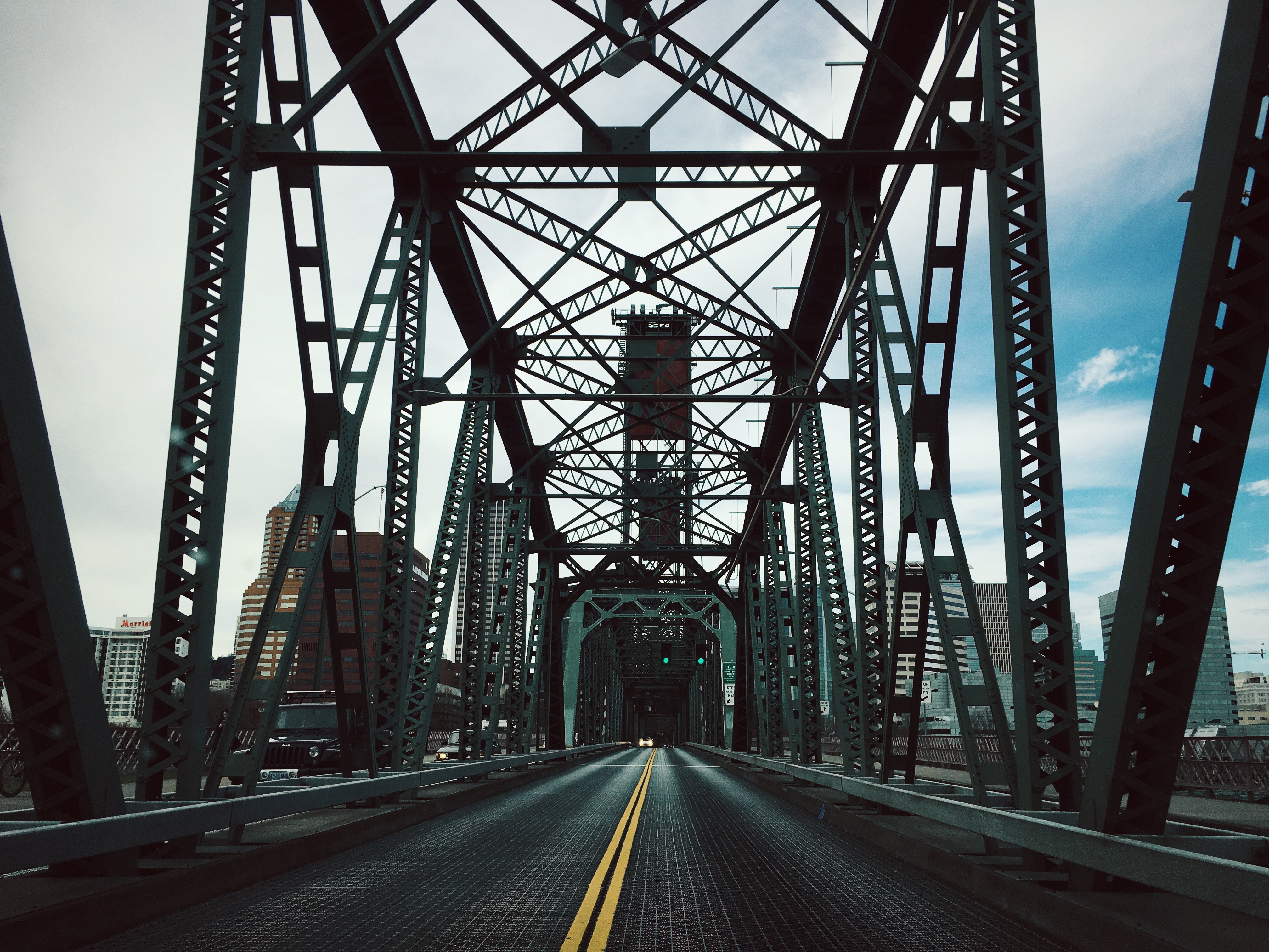 91917 Screensavers and Wallpapers Bridge for phone. Download Cities, Road, Bridge, Design, Construction pictures for free