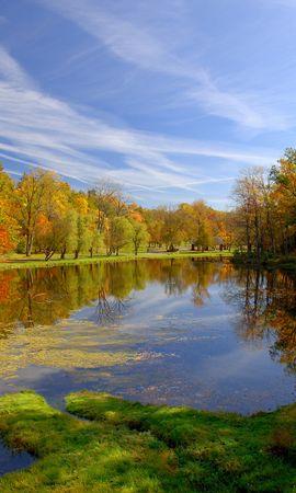 35839 скачать обои Пейзаж, Река, Осень - заставки и картинки бесплатно