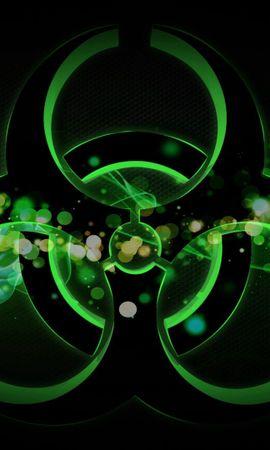 82847 télécharger le fond d'écran Abstrait, Radiation, Signe, Taches - économiseurs d'écran et images gratuitement