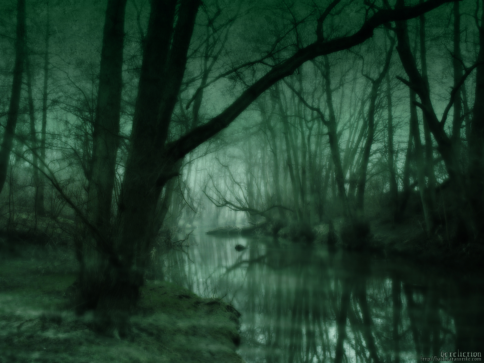 3896 скачать обои Пейзаж, Река, Деревья, Арт - заставки и картинки бесплатно
