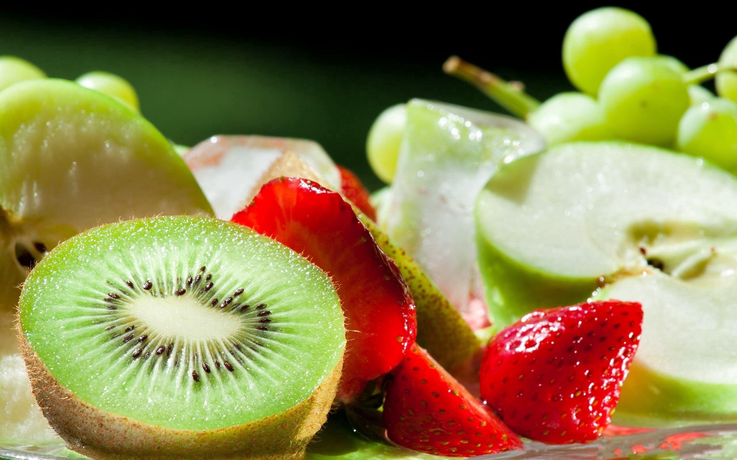 免費下載 54869: 水果, 食物, 草莓, 苹果, 猕猴桃, 成熟, 什锦, 各种, 多汁, 熟 桌面壁紙