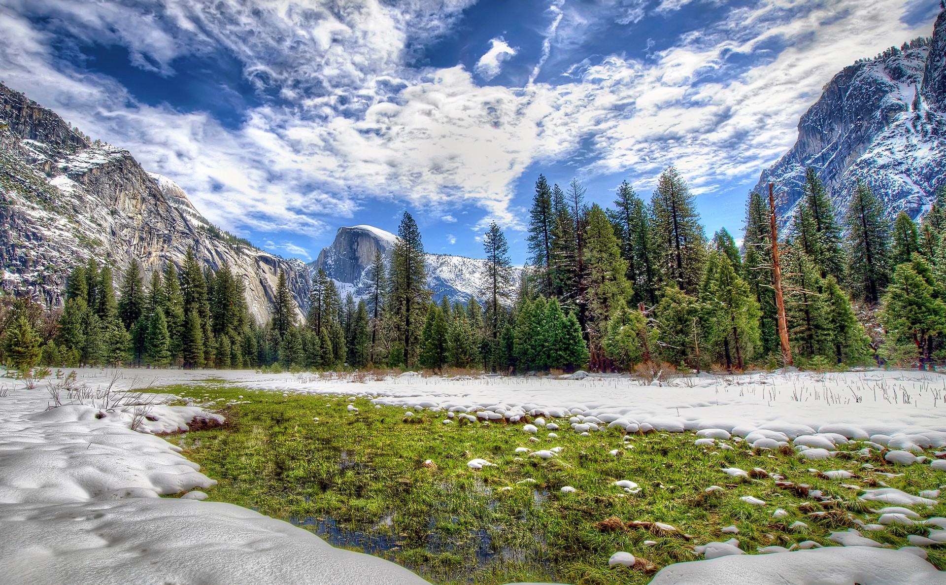 140434 Screensavers and Wallpapers Hdr for phone. Download Nature, Hdr, California, National Park, Yosemite, Sierra Nevada pictures for free