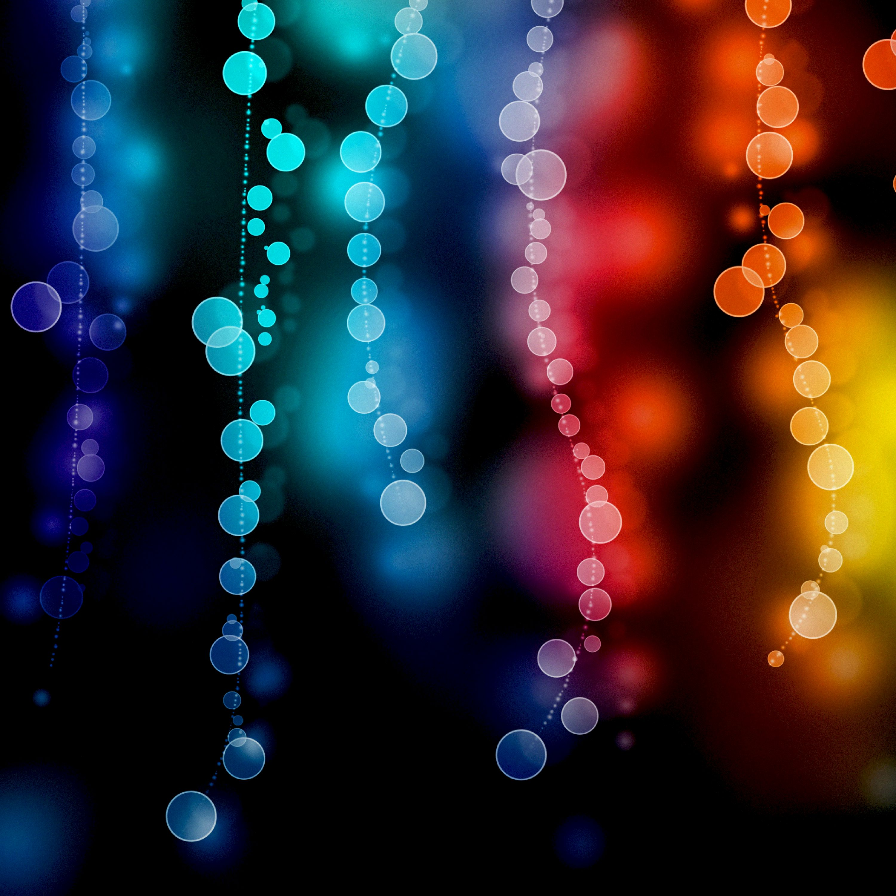 120269 free wallpaper 720x1520 for phone, download images Abstract, Glare, Circles, Multicolored, Motley, Blur, Smooth, Bokeh, Boquet 720x1520 for mobile