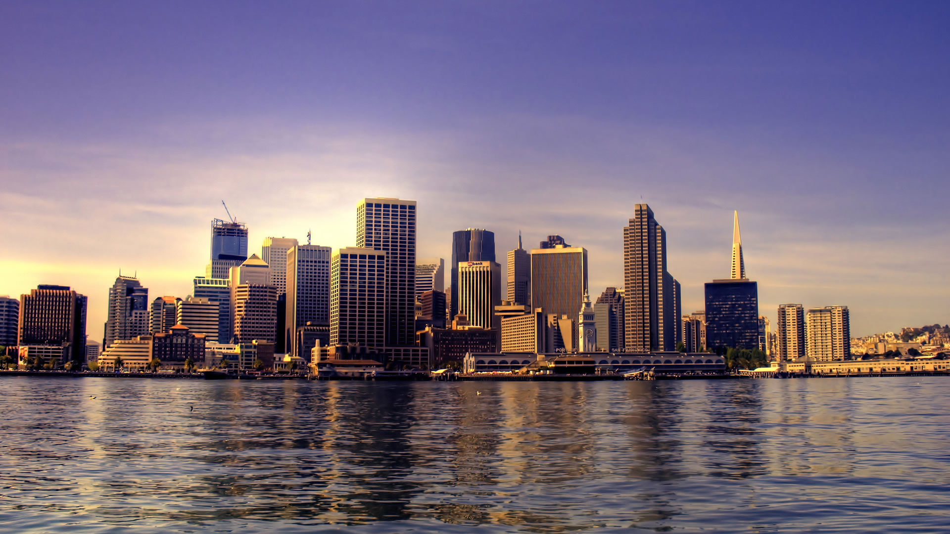 21211 download wallpaper Landscape, Cities, Sea screensavers and pictures for free