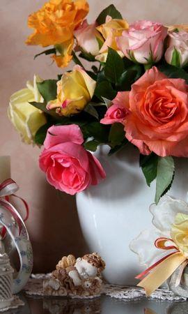 28587 baixar papel de parede Plantas, Flores, Utensílios Domésticos, Bouquets, Natureza Morta - protetores de tela e imagens gratuitamente