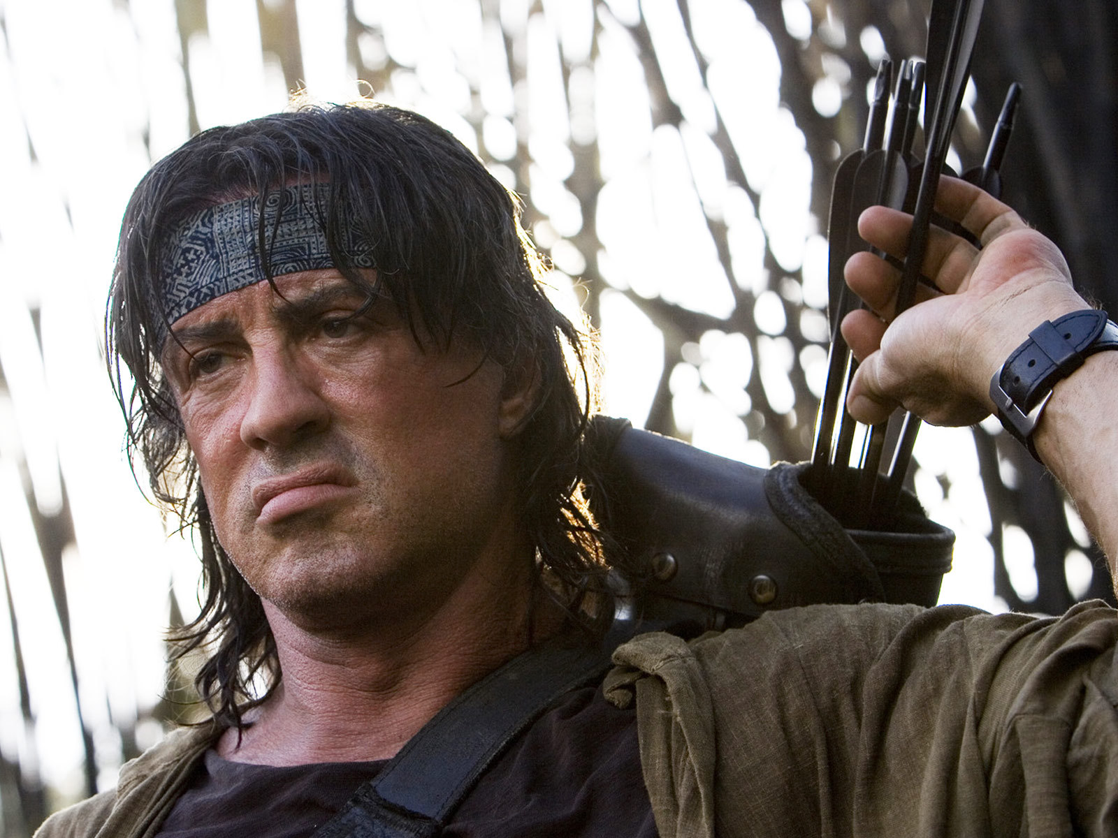 12365 download wallpaper Cinema, People, Actors, Men, Sylvester Stallone, Rambo screensavers and pictures for free
