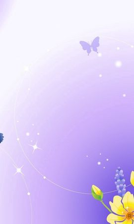 133757 descargar fondo de pantalla Abstracción, Riñón, Riñones, Brillar, Brillo, Mariposa, Naturaleza, Plantas, Flores: protectores de pantalla e imágenes gratis