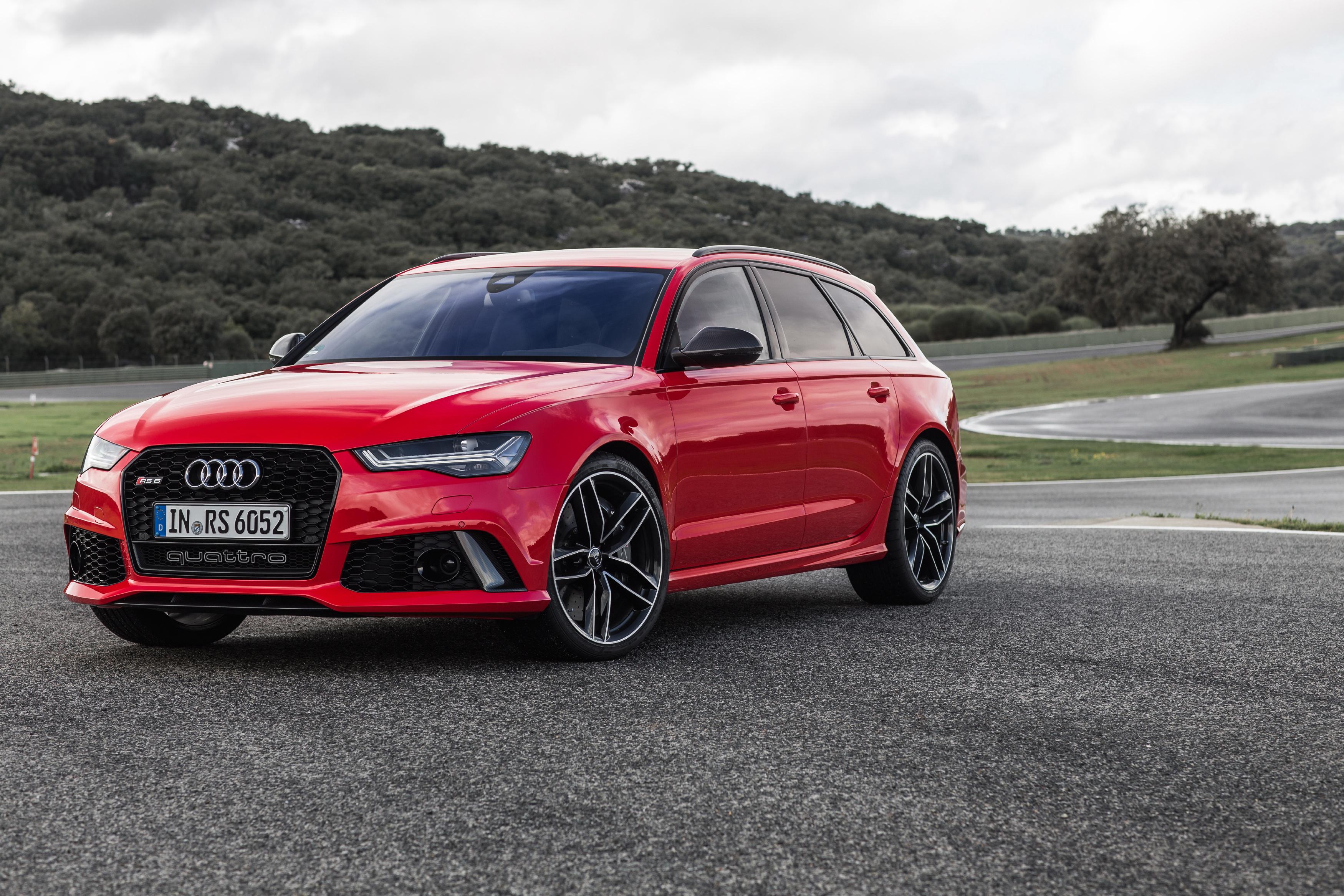 96999 скачать обои Тачки (Cars), Ауди (Audi), Avant, Rs6, Вид Сбоку, Красный - заставки и картинки бесплатно