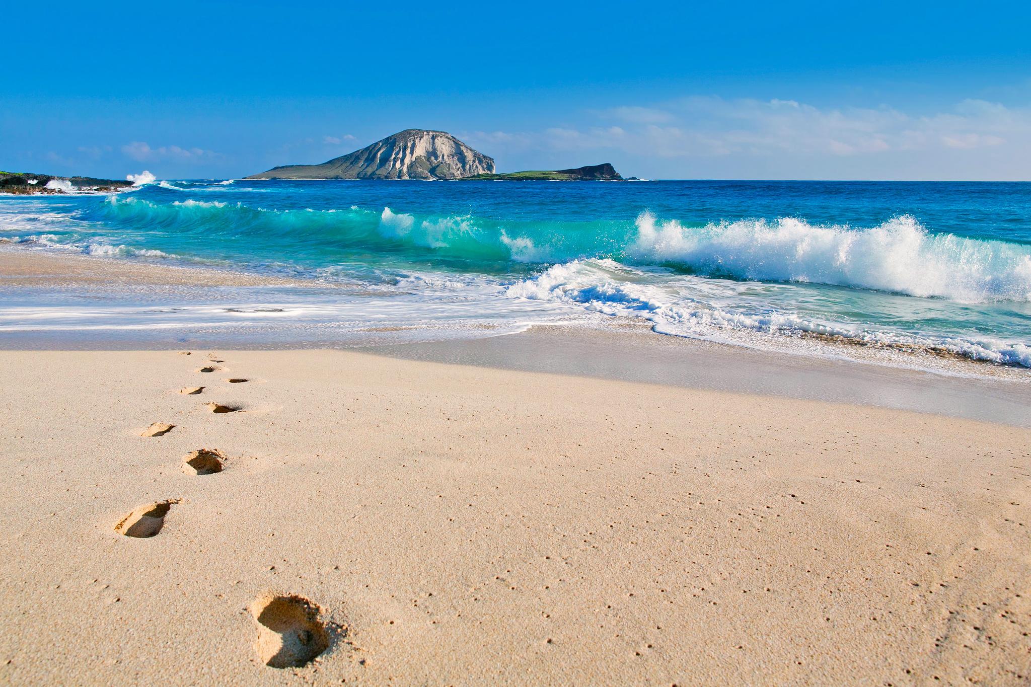 22777 скачать обои Пейзаж, Море, Волны, Пляж, Песок - заставки и картинки бесплатно