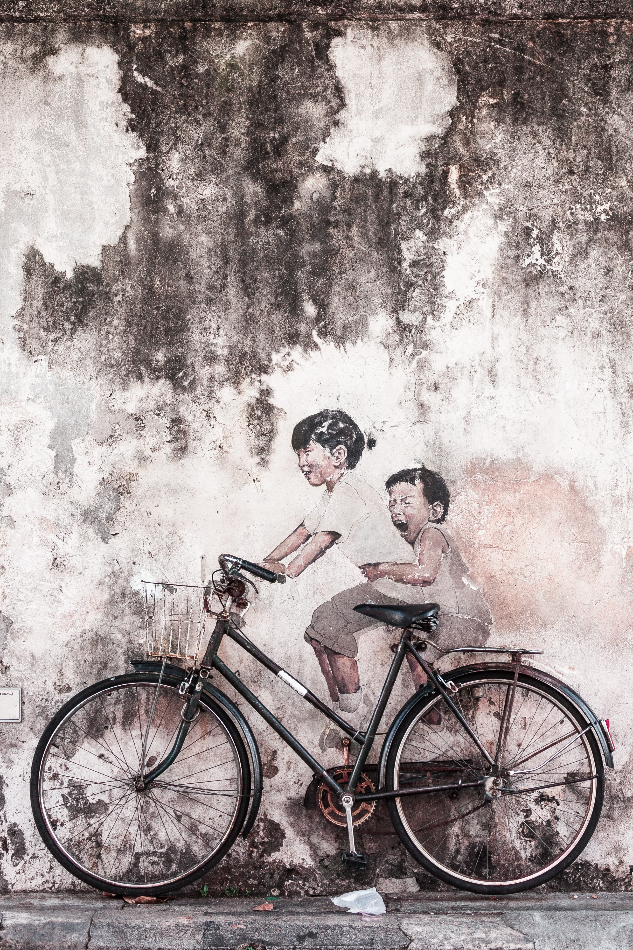 116714 Screensavers and Wallpapers Funny for phone. Download Funny, Art, Miscellanea, Miscellaneous, Bicycle pictures for free