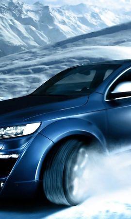 28093 télécharger le fond d'écran Transports, Voitures, Montagnes, Audi - économiseurs d'écran et images gratuitement