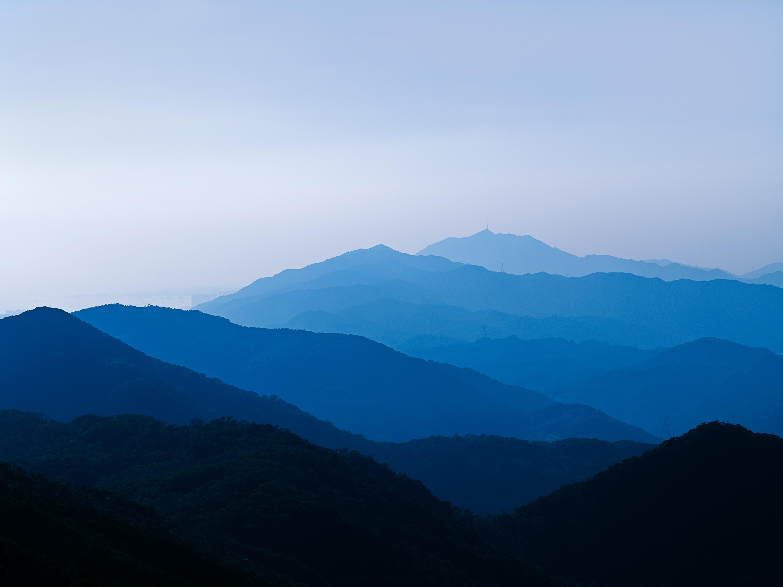 96980 скачать обои Туман, Сумерки, Природа, Горы, Пейзаж - заставки и картинки бесплатно