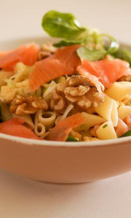107426 télécharger le fond d'écran Nourriture, Salade, Pâtes, Macaroni, Viande, Légumes - économiseurs d'écran et images gratuitement