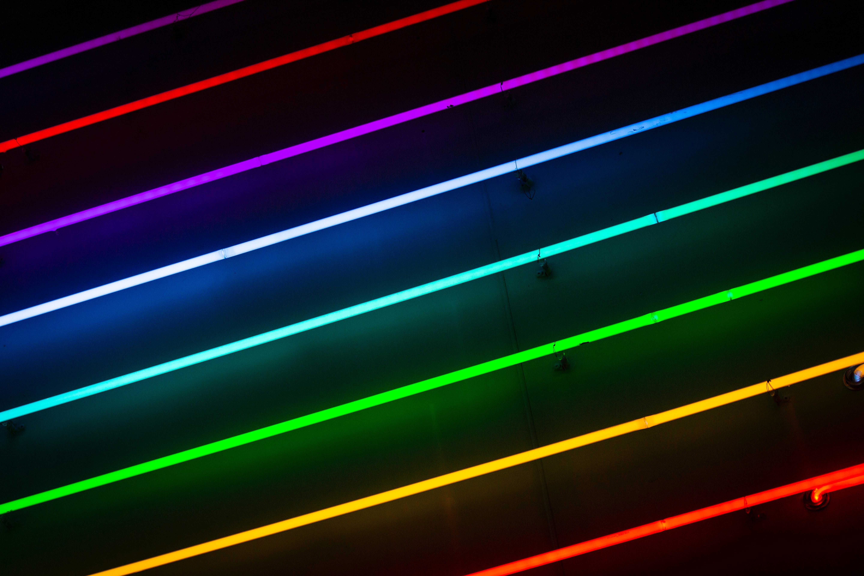 免費壁紙71150:杂项, 线, 氖, 尼翁, 多彩多姿, 五颜六色, 闪耀, 光, 辉光, 发光 下載手機圖片
