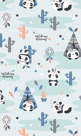 95245 Screensavers and Wallpapers Funny for phone. Download Textures, Texture, Pattern, Nice, Sweetheart, Funny, Pandas pictures for free