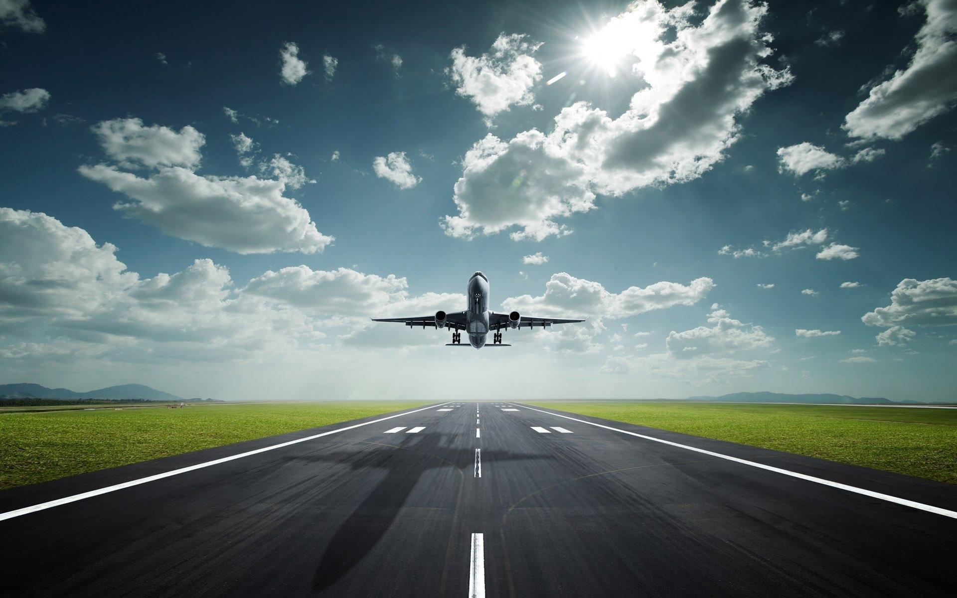 27276 скачать обои Самолеты, Транспорт, Небо, Облака - заставки и картинки бесплатно