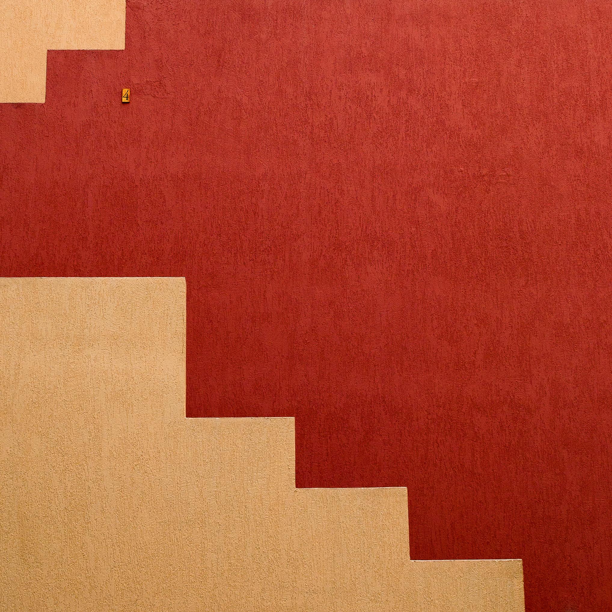 55016壁紙のダウンロードミニマリズム, 壁, ペイント, ペンキ, 数字, 像-スクリーンセーバーと写真を無料で