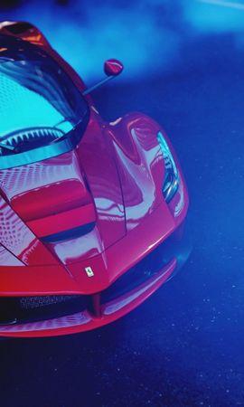 75326 télécharger le fond d'écran Voitures, Ferrari Laferrari, Ferrari, Voiture De Sport, Sportif, Courses, Vue D'en-Haut, Vue D'En Haut - économiseurs d'écran et images gratuitement