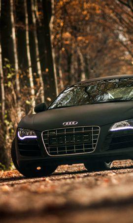 127257 télécharger le fond d'écran Voitures, Audi, R8, V10, Voiture De Sport, Sportif - économiseurs d'écran et images gratuitement