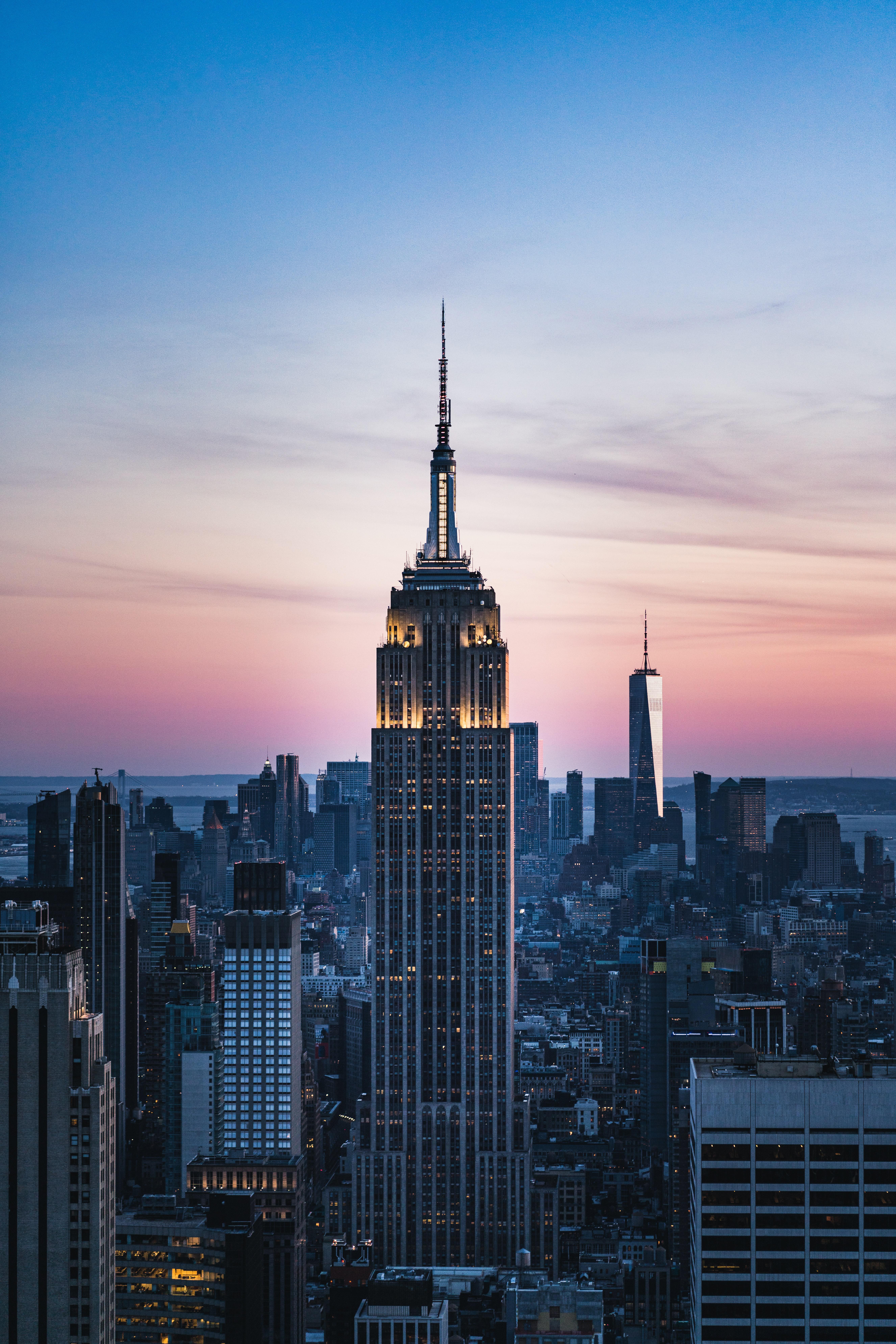 149925 fondo de pantalla 1920x1080 en tu teléfono gratis, descarga imágenes Ciudad, Edificio, Rascacielos, Vista Desde Arriba, Puesta Del Sol, Arquitectura, Ciudades 1920x1080 en tu móvil