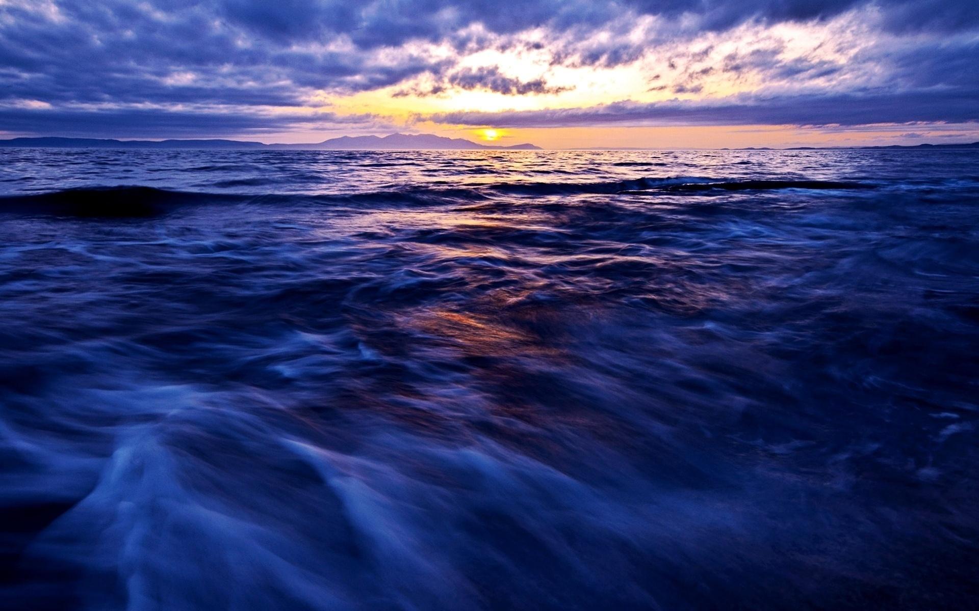 14429 скачать обои Пейзаж, Вода, Закат, Небо, Море - заставки и картинки бесплатно