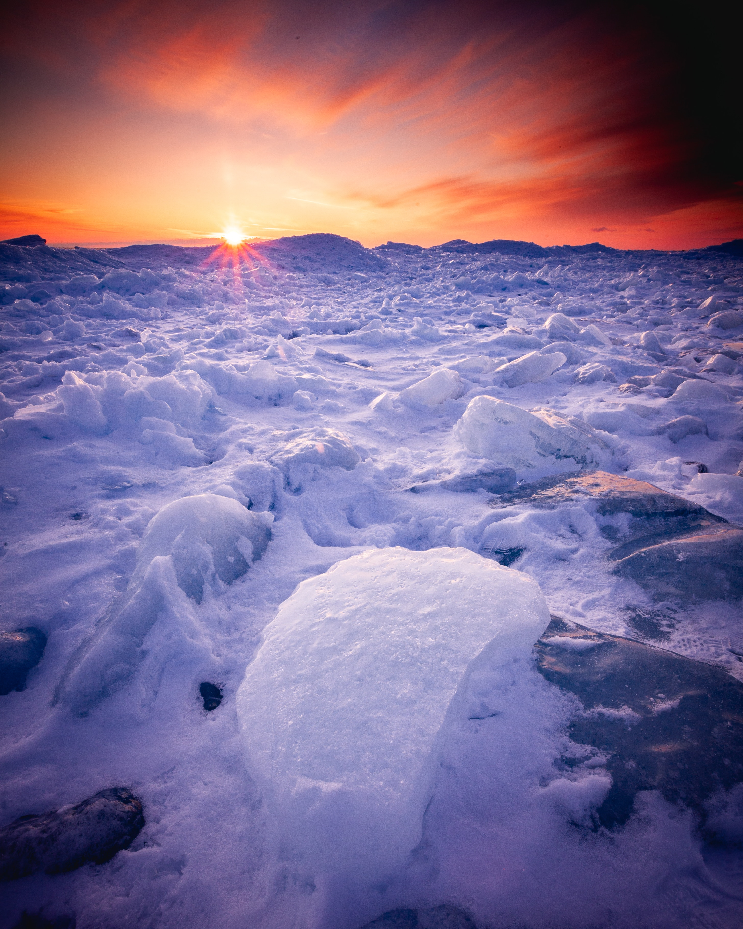 55364 Заставки и Обои Зима на телефон. Скачать Природа, Снег, Зима, Закат, Горизонт, Лед картинки бесплатно