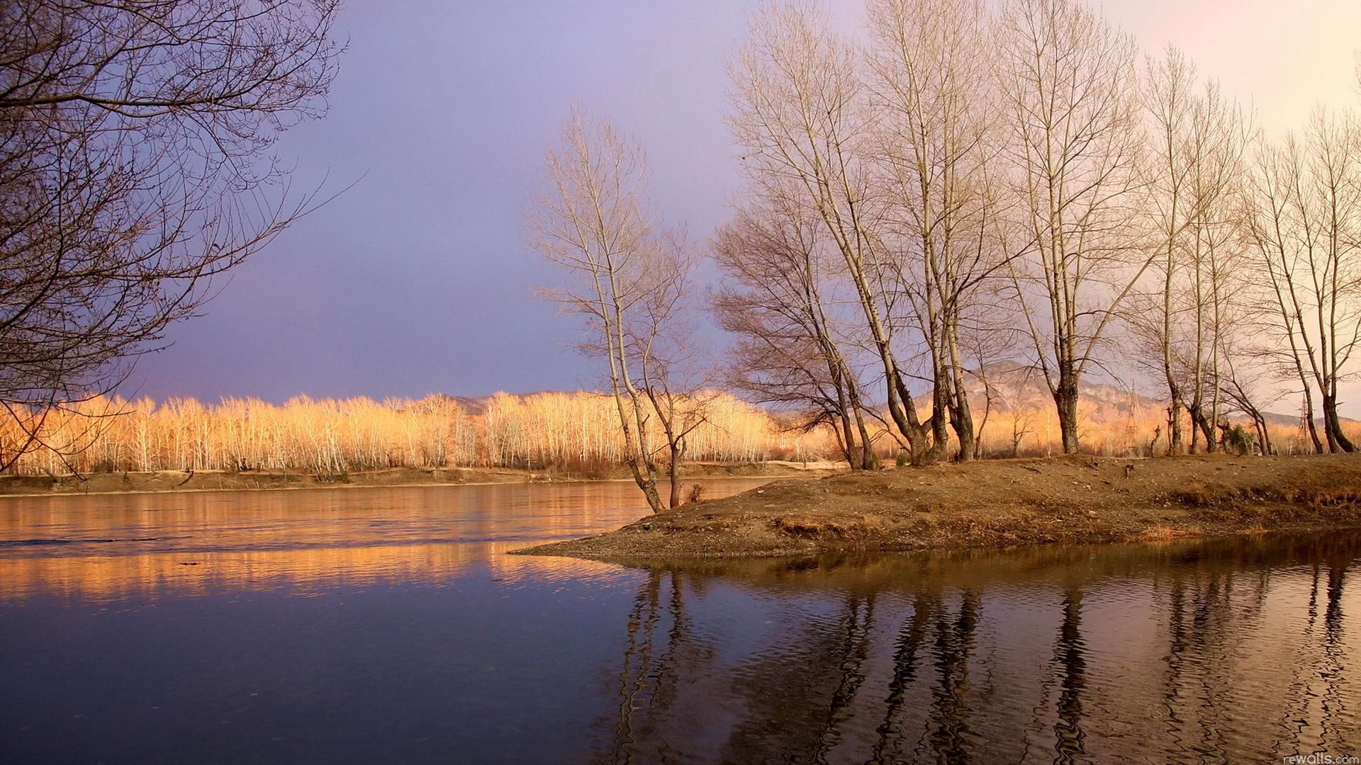 27339 скачать обои Пейзаж, Река, Деревья - заставки и картинки бесплатно