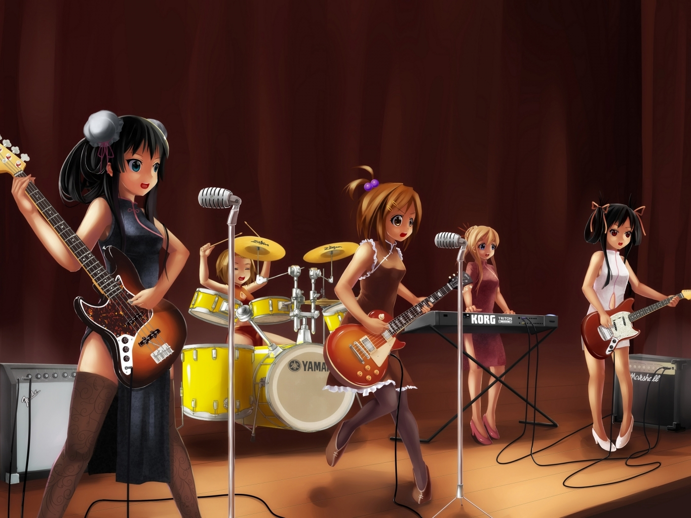 29951 download wallpaper Music, Anime, Girls screensavers and pictures for free