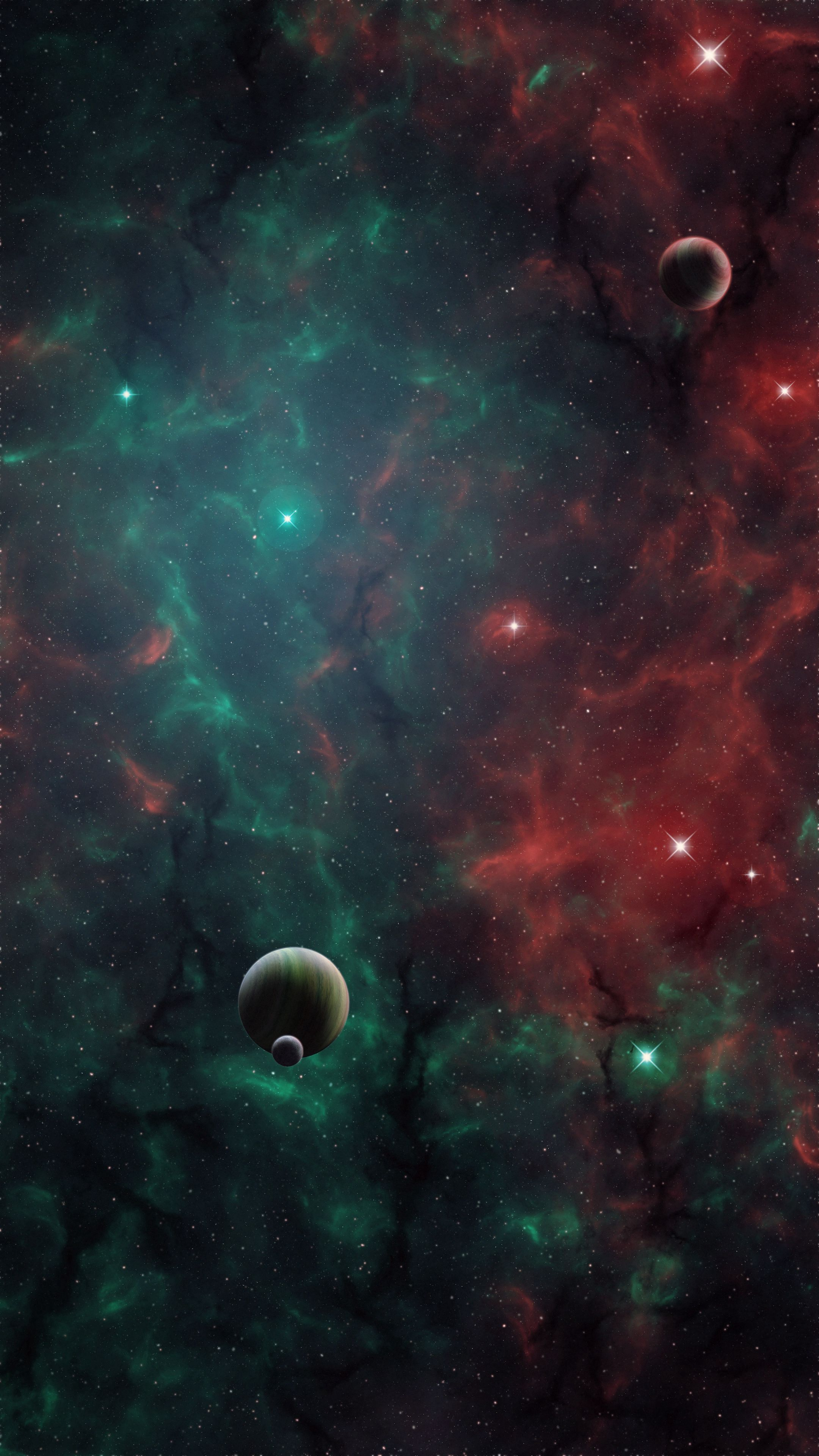 69315 download wallpaper Universe, Galaxy, Planets, Art, Open Space screensavers and pictures for free
