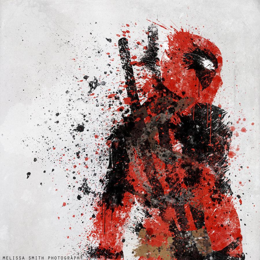 17398 скачать обои Кино, Арт, Рисунки, Deadpool - заставки и картинки бесплатно