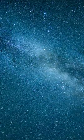 157528 скачать обои Звездное Небо, Туманность, Синий, Космос, Звезды - заставки и картинки бесплатно