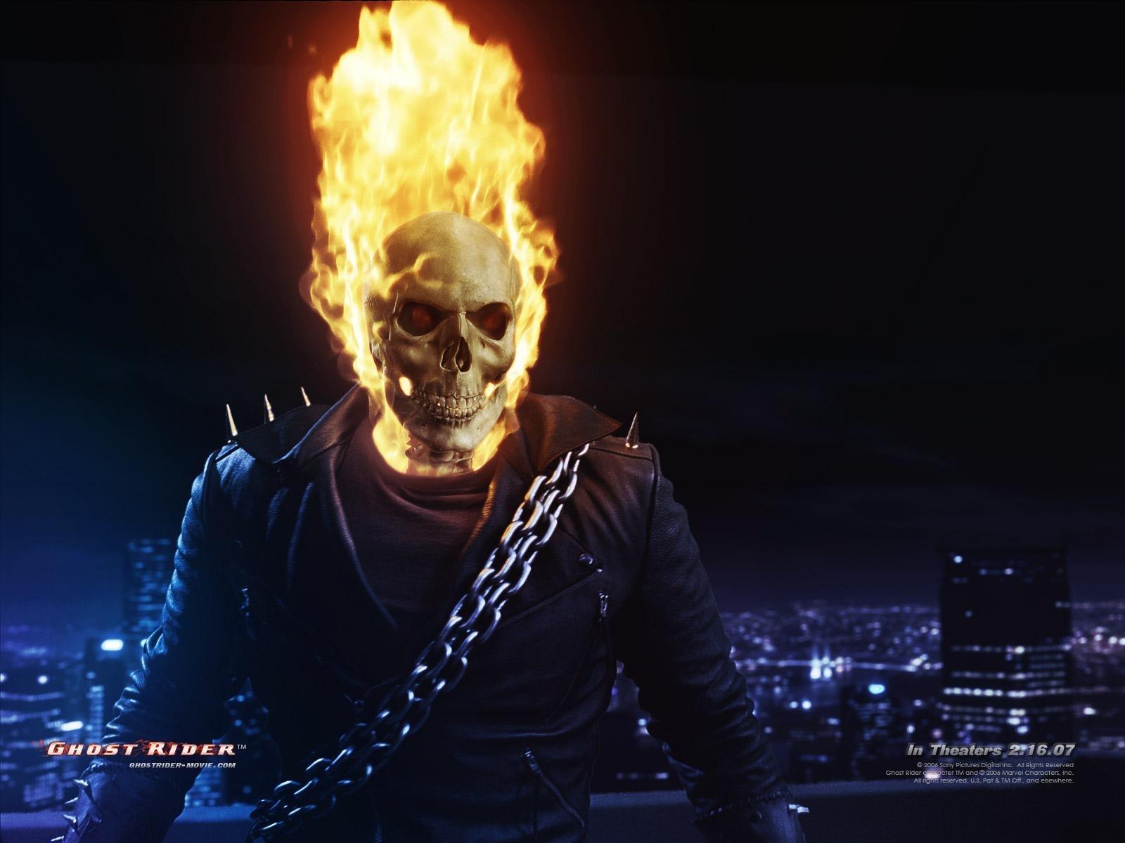4043 baixar papel de parede Cinema, Ghost Rider - protetores de tela e imagens gratuitamente