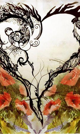 3847 baixar papel de parede Corações, Amor, Dia Dos Namorados, Imagens - protetores de tela e imagens gratuitamente