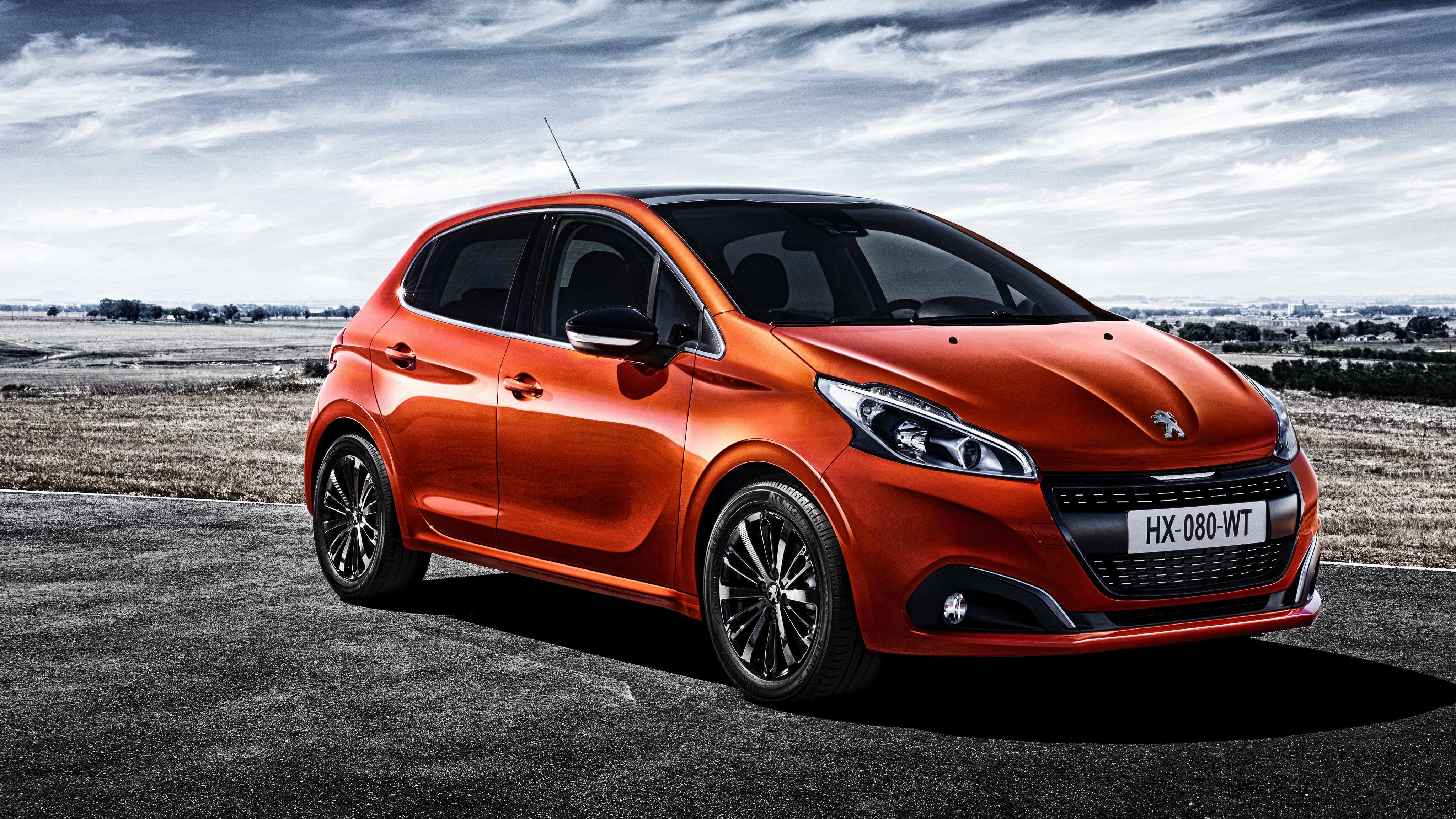 79659 скачать обои Пежо (Peugeot), Тачки (Cars), Красный, Вид Сбоку, 208 - заставки и картинки бесплатно