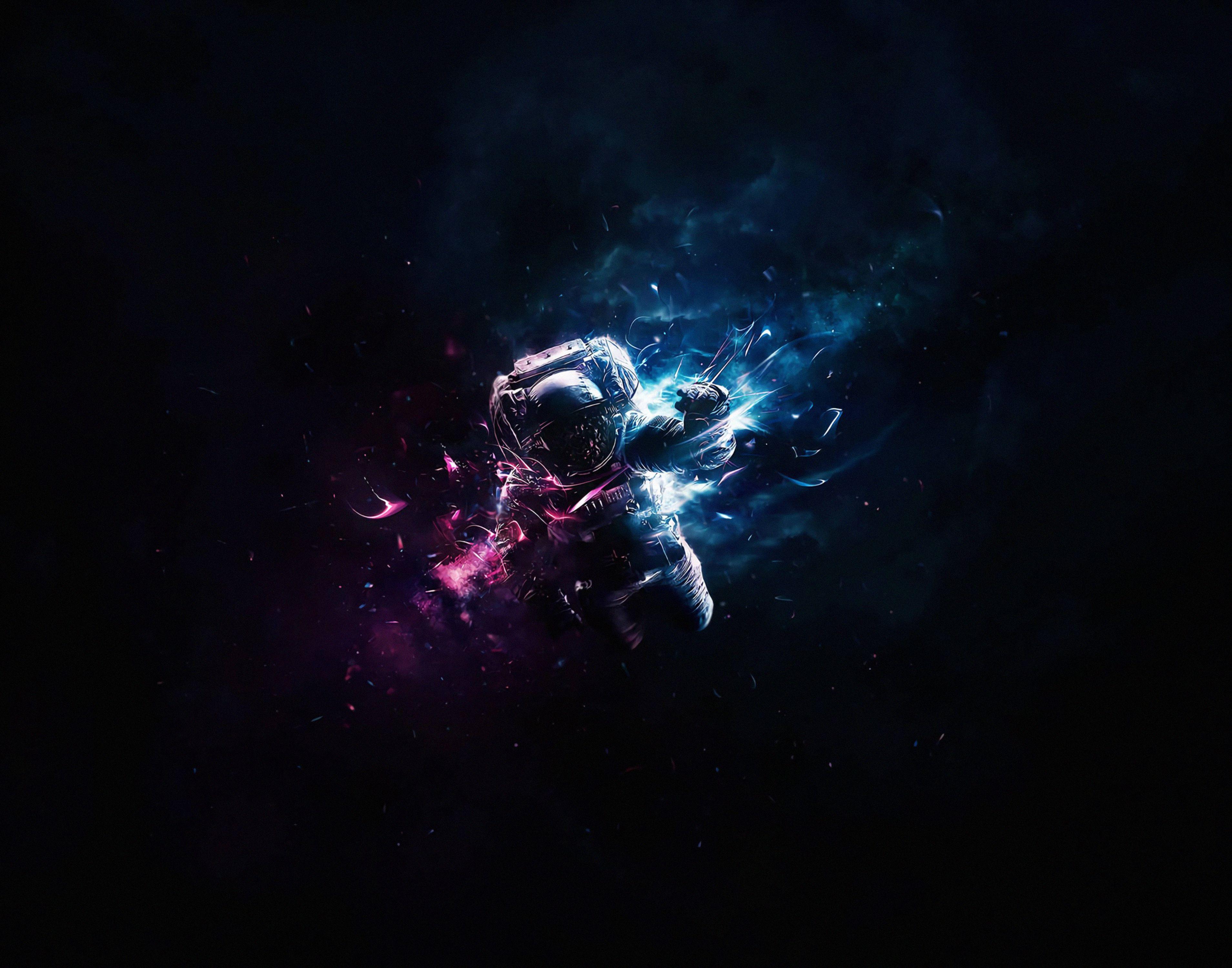 57624 скачать обои Космос, Полет, Космонавт, Арт, Астронавт, Гравитация - заставки и картинки бесплатно