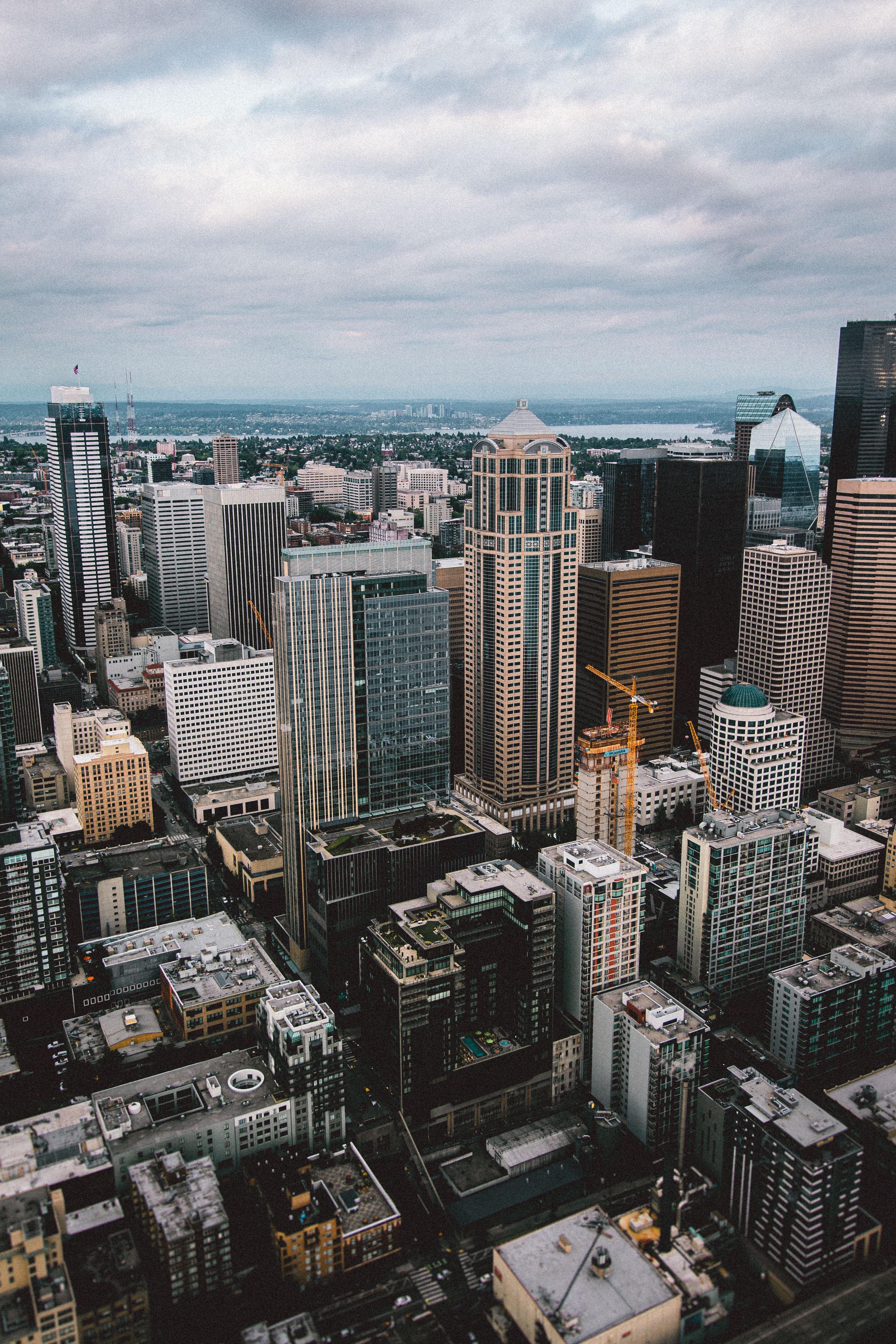 75497壁紙のダウンロード市, 都市, 建物, 超高層ビル, 道路, 道-スクリーンセーバーと写真を無料で